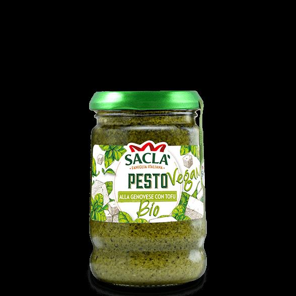 Bio-Pesto aus Basilikum und Tofu