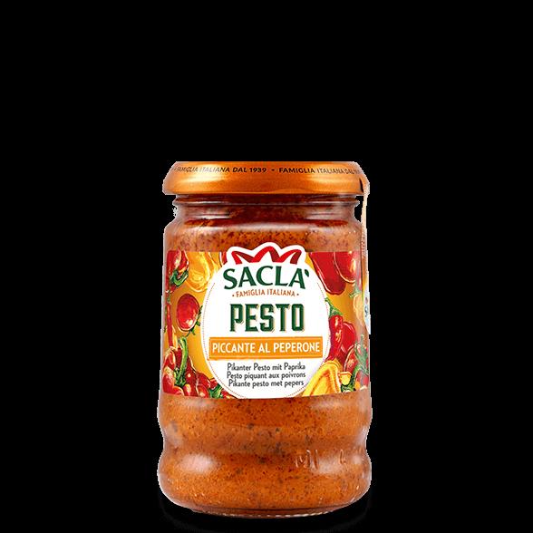 Pikante Pesto mit Paprika und Chilischoten (190g)
