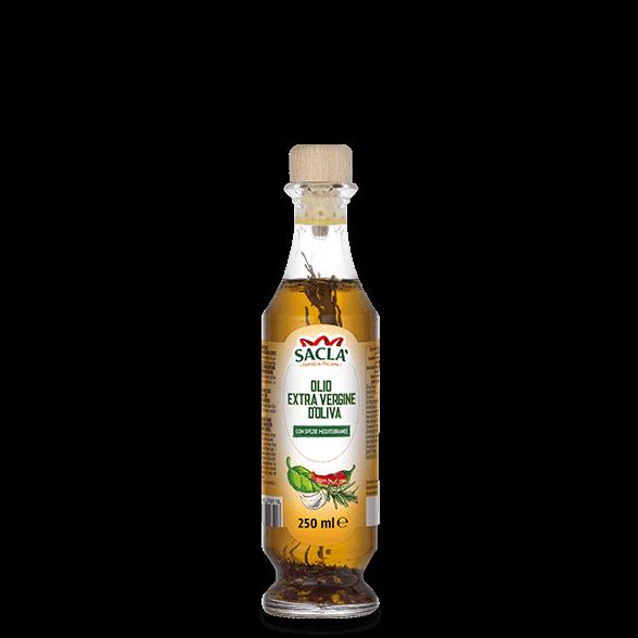 Natives Olivenöl extra mit Kräuter und Gewürze