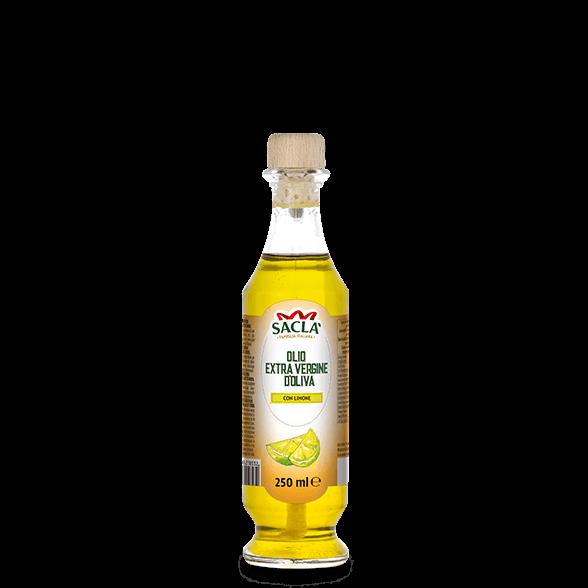 Natives Olivenöl extra mit Zitrone