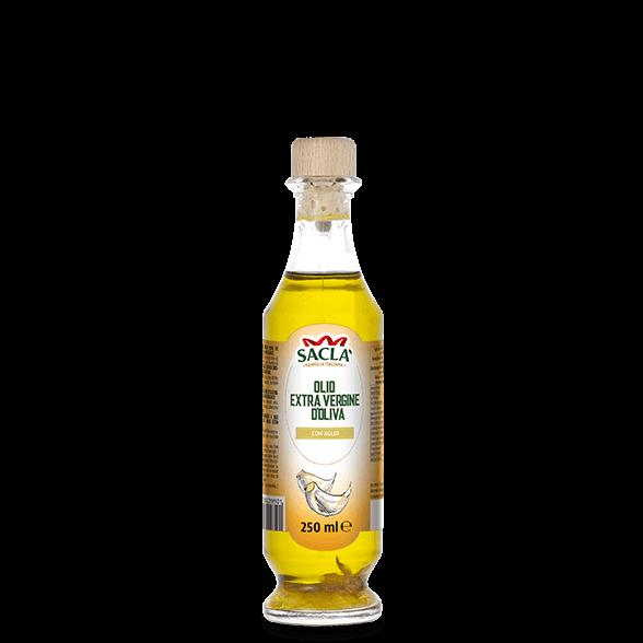 Natives Olivenöl extra mit Knoblauch