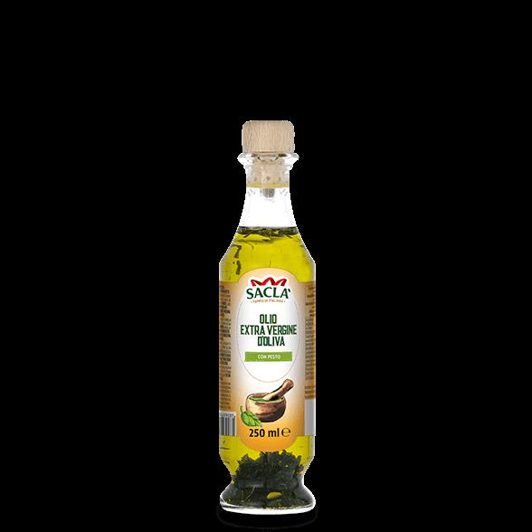 Natives Olivenöl extra mit Pesto